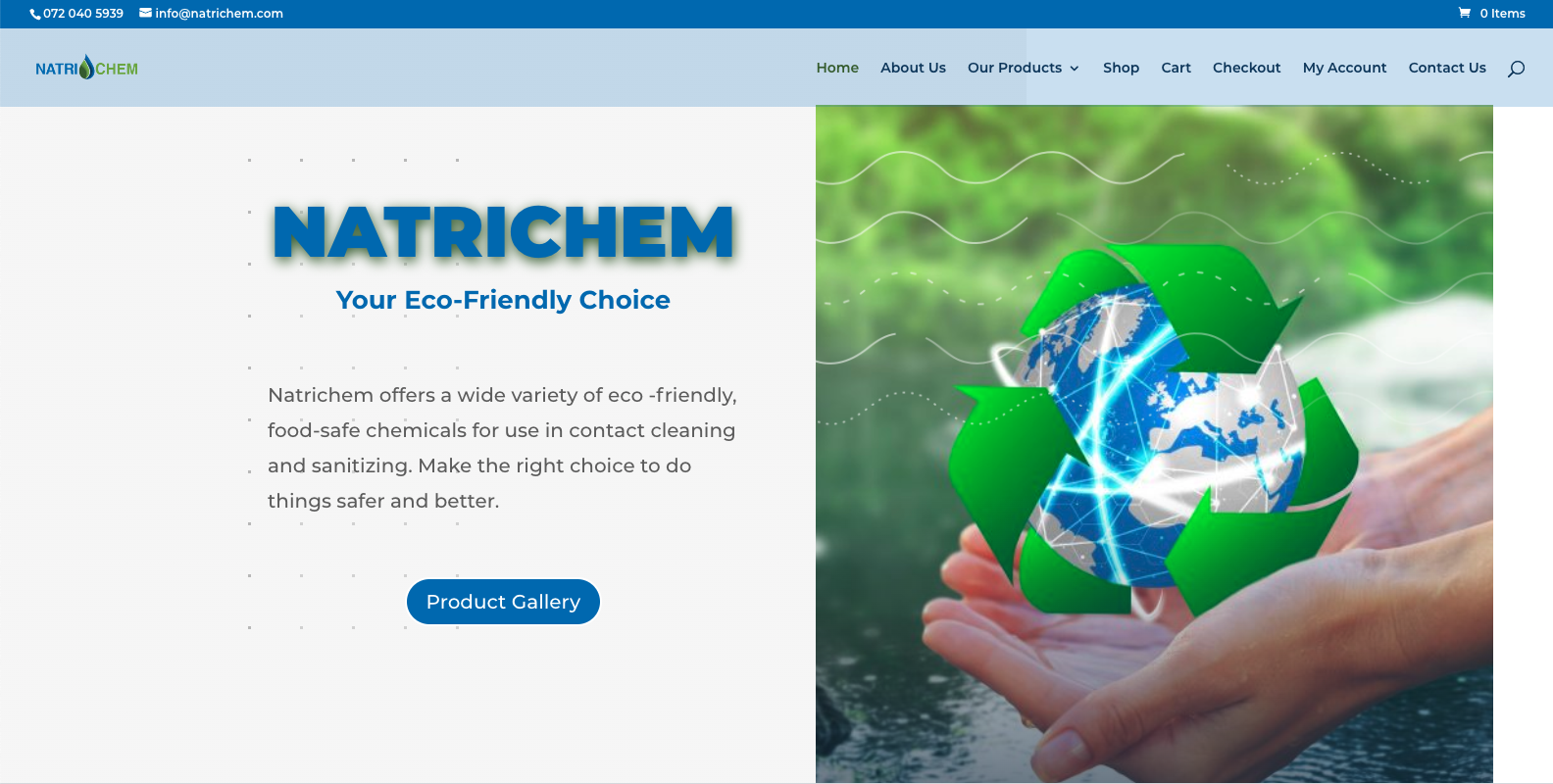 natrichem website by webboutique